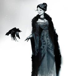 Svetoslav Petrov (her totem is the raven. i have spoken. and yes, fine, she's the Queen of Hell.)