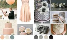 Wedding colour palette Read more on http://onefabday.com/2011-wedding-colours/