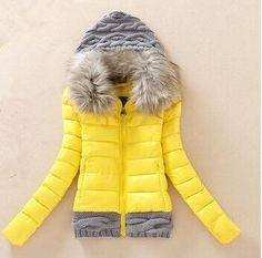 $25.80 (Buy here: https://alitems.com/g/1e8d114494ebda23ff8b16525dc3e8/?i=5&ulp=https%3A%2F%2Fwww.aliexpress.com%2Fitem%2F2015-Women-Winter-Coat-Cotton-Padded-Jacket-Short-Knitted-Hood-Fur-Collar-Womens-Winter-Jackets-and%2F32468900480.html ) 2016 Women Winter Coat Cotton Padded Jacket Short Knitted Hood Fur Collar Womens Winter Jackets and Coats for just $25.80