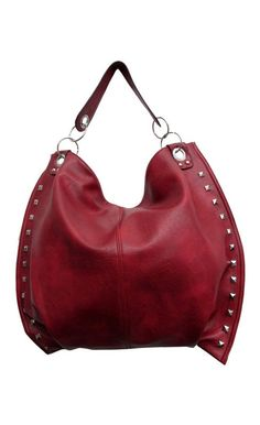THE BRIDGET BAG BURGANDY | Wholesale Fashion Shoes