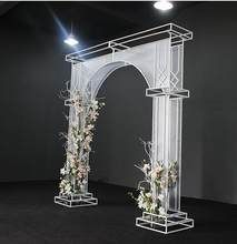 Online shop new wedding projects tieyi arch sen department outdoor wedding stage decoration moon flower gate happiness gate aliexpress mobile Wedding Mandap, Arch Wedding, Wedding Receptions, Wedding Table, Wedding Ideas, Bride And Groom Silhouette, Wedding Doors, Wedding Stage Decorations, Wedding Humor