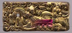Gold Jewelry In Italy Ancient China, Ancient Art, Miho Museum, Ottonian, Lost Wax Casting, Mythological Creatures, Ancient Jewelry, Medieval Art, Tile Art