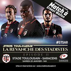 #STSAR Pour nous retrouver au stade Ernest Wallon, c'est par ici : https://billetterie.stadetoulousain.fr/