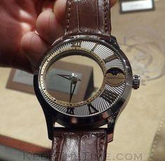 スケスケな腕時計