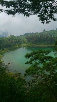 Beautiful lake at Dieng Plateau in Java, Indonesia www.rapunzel-will-raus.ch