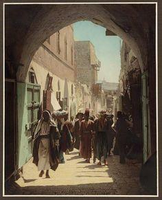 David Street Jerusalem, Palestine