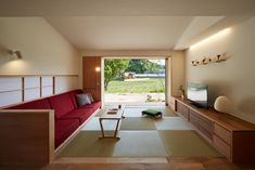 Japanese Living Rooms, Japanese House, Interior Design Living Room, Living Room Designs, Tatami Room, Japanese Interior Design, Modern Architecture House, Room Planning, Decoration