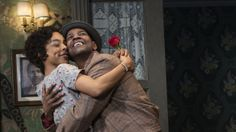 'Raisin In The Sun' Revival: Denzel Washington and Sophie Okonedo. He and LaTanya Richardson Jackson (not pictured) talk theatre with NPR