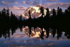 Mount Baker-Snoqualmie National Forest - Bing images