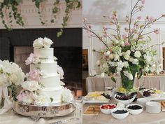 Real Wedding: Sarah and Chad   Flowers: Sue Morris   Cake: Chevy Chase Club   Photo: Sam Stroud Photography