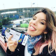 Ai meu DeuzZZZ  Tô na EUROCOPA!!!! ✨ Vem que hoje eu tô a louca do Snapchat!  #marimoonNaEuropa