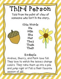 point of view first and third person worksheet lesson planet school pinterest lesson. Black Bedroom Furniture Sets. Home Design Ideas