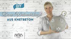 DIY: Riesen-Weihnachtskugel aus Knetbeton selber machen [How to] Deko Ki...