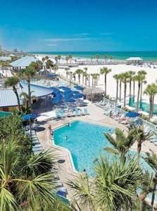 Clearwater Beach, Florida. Hilton