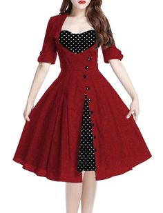 I love this darling dress. Perfect for swing dancing.