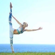 Gypset Goddess x Alo Airbrush Legging #yoga #yogainspiration