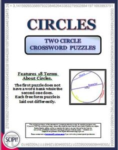Medium difficulty crossword puzzles to print and solve volume 26 circles two circle crossword puzzles with 18 definitions clues malvernweather Image collections