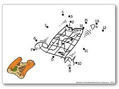 http://dessinemoiunehistoire.net/Relier les points de 1 à 15 : la carte au trésor