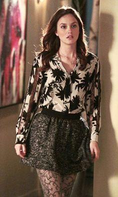 S in Fashion Avenue: Fashion icons: Blair Waldorf