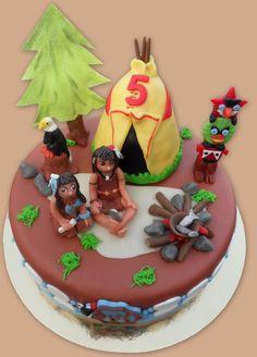 Native cake    - Indianen taart