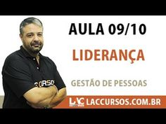 Aula 09/10 - Liderança - Gestão de Pessoas - Wendell Léo