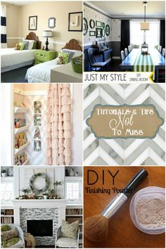 Great DIY tutorials and tips. Great room makeovers. The reading nook is brilliant!
