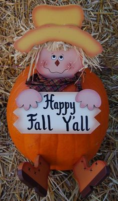 Pumpkin....Trish this is so cute, pokes for a pumpkin, so it can be made into a scarcrow.  :D)