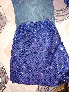 Patte d'éléphant disco , Tuto pour faire - Loisirs créatifs Costume Prince, Tutu En Tulle, Waist Skirt, High Waisted Skirt, Sewing For Kids, Skirts, Philippe, Clothes, Halloween
