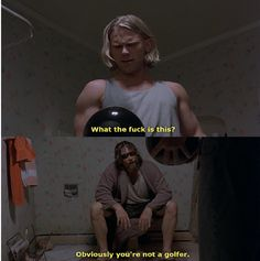 The Big Lebowski, I adore. #thedudeabides