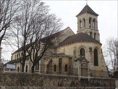 L'église Saint Pierre de Montmartre, consacrée le 21 avril 1147 Paris