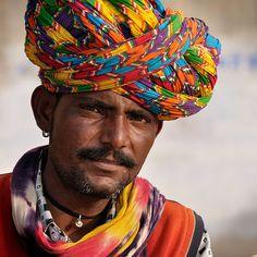 Sarangi Player. Udaipur, India