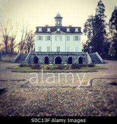 Chateau de Beauvoir,Loire,France Stock Photo