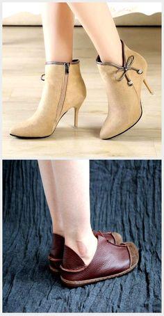 Logobeing Botas Mujer Invierno Botines Mujer Tacon Alto Plataforma Botas Mujer Cuñas Casual Zapatos Botines de Encaje con Lazo de Mujer Botas Planas