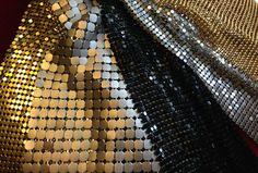Perlenvorhänge aus Metall