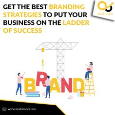 Get the Best Branding Strategies to Put Your Business On The Ladder Of Success #BrandBuilding #Business #BusinessStrategies #Brand #SuccessBusiness Branding Services, Event Branding, Branding Agency, Building Companies, Brand Building, Branding Strategies, Build Your Brand, Tv Commercials, Company Names