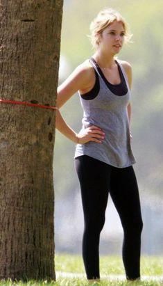 Ashley Benson Workout Routine - Healthy Celeb