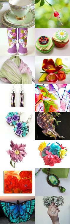 Spring has Sprung by Claudette on Etsy--Pinned with TreasuryPin.com