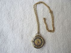 Vintage Princeton Antimagnetic Pocket Watch With Chain