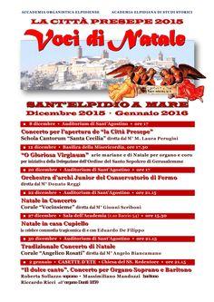 Mercoledì 23 Dicembre  Recita diNatale dell'acr  Auditorium Graziano Giusti - Sant'elpidio a MAre  ore 21.00