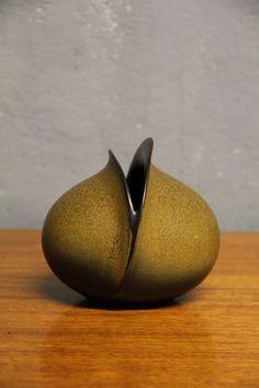 Uta Feyl; Glazed Ceramic Vase for Rosenthal, c1970.