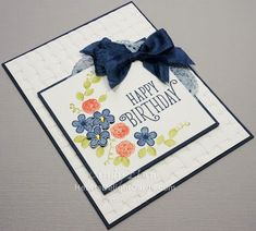 Heart's Delight Cards, Happy Birthday Gorgeous, Stamp Review Crew - Happy Birthday Gorgeous, Birthday Card, Stampin' Up!