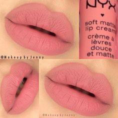 """️NYX Cosmetics Soft Matte Lip Cream """"Cannes"""""""