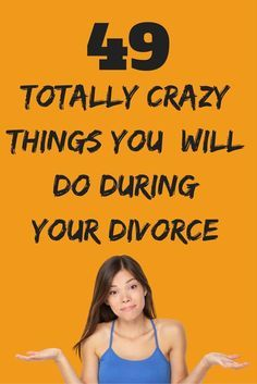 49 totally insane things you will do during your divorce. Yes, even you! You got 99 problems and the ex is one? Divorce can make you do all sorts of strange things. Here are 99 surprisingly crazy things you do in divorce. Dealing With Divorce, Dating After Divorce, Divorce Online, Online Dating, Easy Divorce, Divorce Surviving, Divorce Party, Divorce Humor, Divorce Quotes
