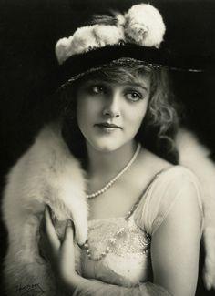 Antique Beautiful Mildred Davis Silent Film Star Art Nouveau Portrait Photograph | eBay