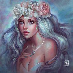 Lindo trabalho de arte digital! @Regrann from @serafleur.art - ------------------------- #drawing #girl #portrait #semirealistic #pearl #pastel #pastelcolors #rose #pinkroses #digitalart #digitalpainting #painting #digitaldrawing #drawing #instagood #instaart #instadaily #instaartwork #portrait #sparkles #glitter #artph #art #artwork #artoftheday #Regrann #artecomoterapia