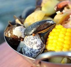 Gift from the Sea - What is summer without a clam boil?