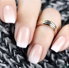 Baby boomer nail art with essie - French Nails - Nageldesign Nail Art Designs 2016, Simple Nail Art Designs, Easy Nail Art, Love Nails, Pretty Nails, Fun Nails, Color Nails, French Nails, Nailart