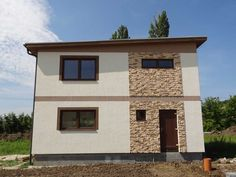 low energy house litchi Building Architecture, House Building, Energy Efficiency, Garage Doors, Construction, Houses, Outdoor Decor, Design, Home Decor
