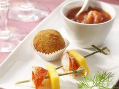 Trio van kreeft: soep, kroketjes en spiesjes - Libelle Lekker!