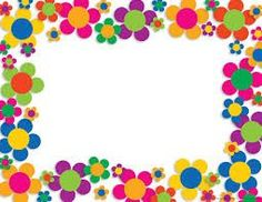 Neon Flower Power Border for invitations Soft Board Decoration, School Board Decoration, School Decorations, Hippie Party, Boarder Designs, Page Borders Design, Diy And Crafts, Crafts For Kids, Arts And Crafts